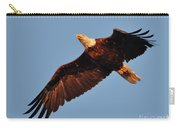 Eagle Over The Fox Carry-all Pouch