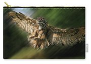Eagle Owl Landing Carry-all Pouch