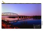 Eagle Watch Along The Mississippi Carry-all Pouch