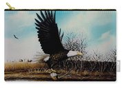 Eagle With Decoy Carry-all Pouch