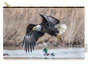 Eagle With Lunch Carry-all Pouch