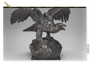 Eagle With Wings Outstretched And Open Beak Carry-all Pouch