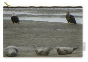 Eagles And Seals Carry-all Pouch