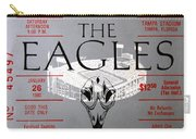 Eagles Concert Ticket 1980 Carry-all Pouch