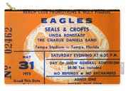 Eagles Tampa Stadium 1975 Carry-all Pouch