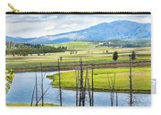 Eagles View, Hayden Valley, Yellowstone Carry-all Pouch