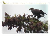 Eaglet In Pines Carry-all Pouch