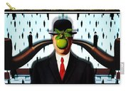 Ear Smoking Apple Guy Standing In The Man Rain Carry-all Pouch