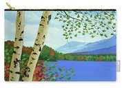 Early Autumn Birches Carry-all Pouch