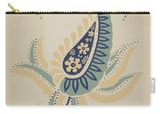 """Early Californian Skirt From The Portfolio """"decorative Art Of Spanish California"""" Carry-all Pouch"""
