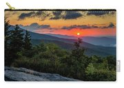 Blue Ridge Parkway Sunrise - Beacon Heights - North Carolina Carry-all Pouch