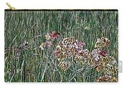 Early Fall Color Woodcut Carry-all Pouch