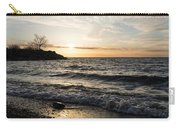 Early Lakeside - Waves Sand And Sunshine Carry-all Pouch