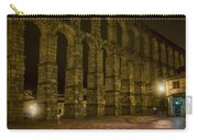 Early Morning At The Aqueduct Of Segovia Carry-all Pouch