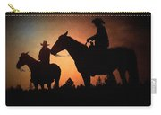 Early Morning Cowboys Carry-all Pouch