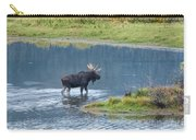 Early Morning Crossing In Grand Teton Carry-all Pouch