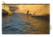 Early Morning Gold At Valletta Fortifications Carry-all Pouch