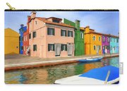Early Morning In Isola Di Burano Carry-all Pouch