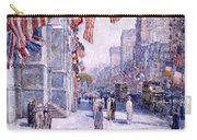 Early Morning On The Avenue In May 1917 - 1917 Carry-all Pouch