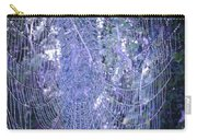 Early Morning Pearls Dew Kissed Spider Web Carry-all Pouch