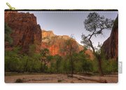 Early Morning Solitude At Zion  Carry-all Pouch