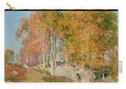 Early October Carry-all Pouch by Willard Leroy Metcalf