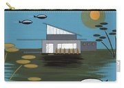 Early Painting Futuristic House Carry-all Pouch