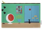 Early Painting Mid Century Room Carry-all Pouch