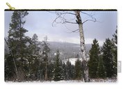 Early Snows In The Rockies Carry-all Pouch