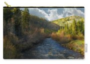 Early Spring Delores River Carry-all Pouch