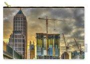 Early Start Skyscraper Construction Atlanta Georgia Art Carry-all Pouch