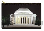 Early Washington Mornings - The Jefferson Memorial Carry-all Pouch