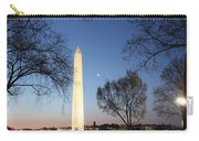 Early Washington Mornings - The Washington Monument Carry-all Pouch