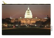 Early Washington Mornings - Us Capitol In The Spotlight Carry-all Pouch