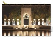 Early Washington Mornings - World War II Memorial - Pacific Theater Carry-all Pouch