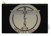 Early Winged Boeing Logo Carry-all Pouch