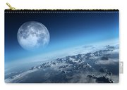 Earth Icy Ocean Aerial View Carry-all Pouch