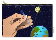 Earth Like An Inflatable Balloon Carry-all Pouch