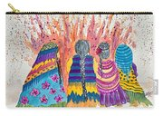Earth Mothers - Feeding  The Fire Carry-all Pouch