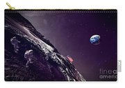Earth Rise On The Moon Carry-all Pouch
