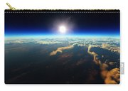 Earth Sunrise From Outer Space Carry-all Pouch