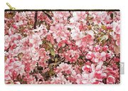 Earth Tones Apple Blossoms  Carry-all Pouch