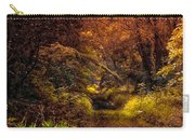 Earth Tones In A Illinois Woods Carry-all Pouch