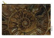 Earth Treasures - Brown Amonite Carry-all Pouch