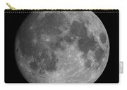 Earth's Moon Phase Full Moon Carry-all Pouch