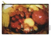 Earthtone Fruit Fresco Carry-all Pouch