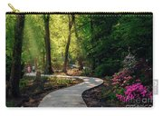 Earyl Morning Walk Through Honor Heights Park Carry-all Pouch