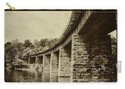East Falls Rail Road Bridge Carry-all Pouch