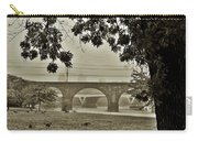 East River Drive - Philadelphia Carry-all Pouch by Bill Cannon