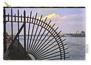 East River View Through The Spokes Carry-all Pouch